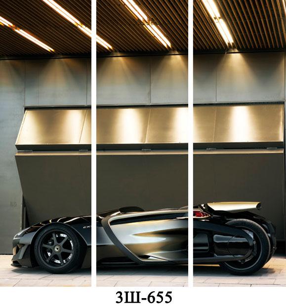 Створки с фотопечатью для 3-х дверей купе на заказ