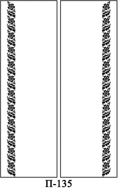 Створки пескоструй для 2-х дверей купе на заказ